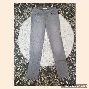 Levi's 712 Slim jeans gray size 27